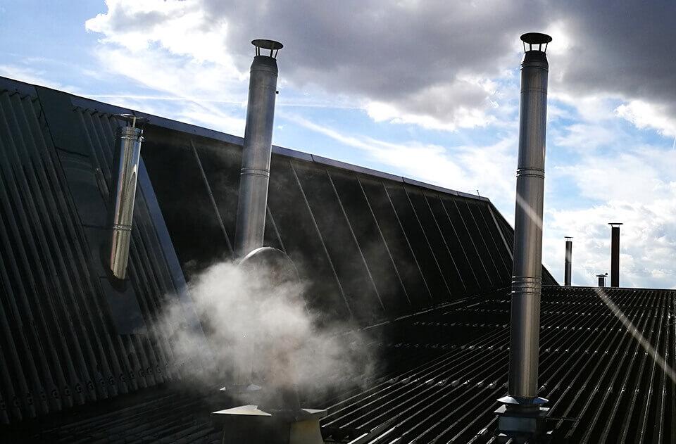 Rekonštrukcie komínov, vložkovanie pre všetky typy palív